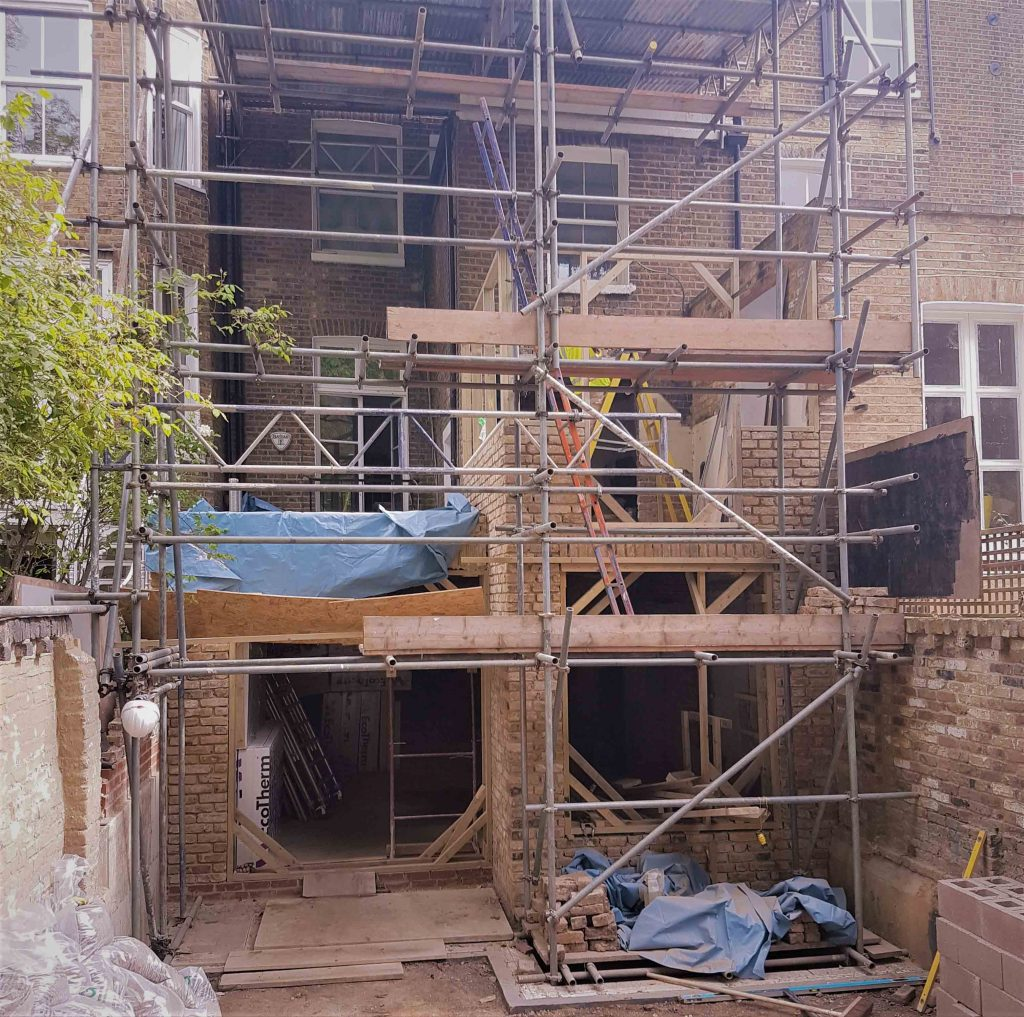 Scaffolding at campden hill london richmond bell - 600 exterior street bronx ny 10451 ...