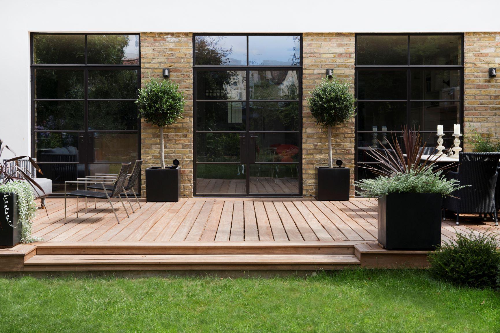 Garden decking, London