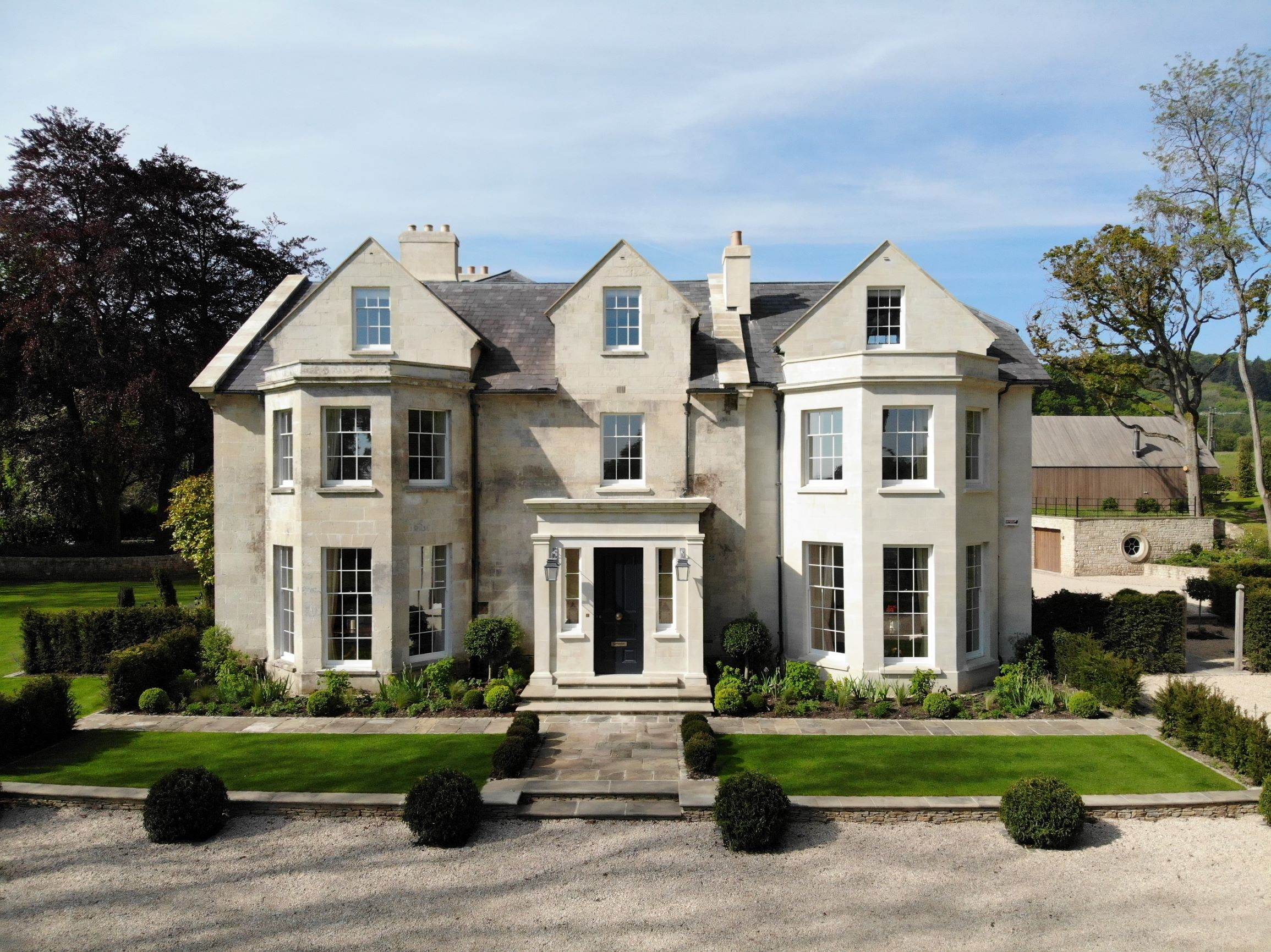 The Old Rectory by Wiltshire architecture firm, Richmond Bell Architects Salisbury