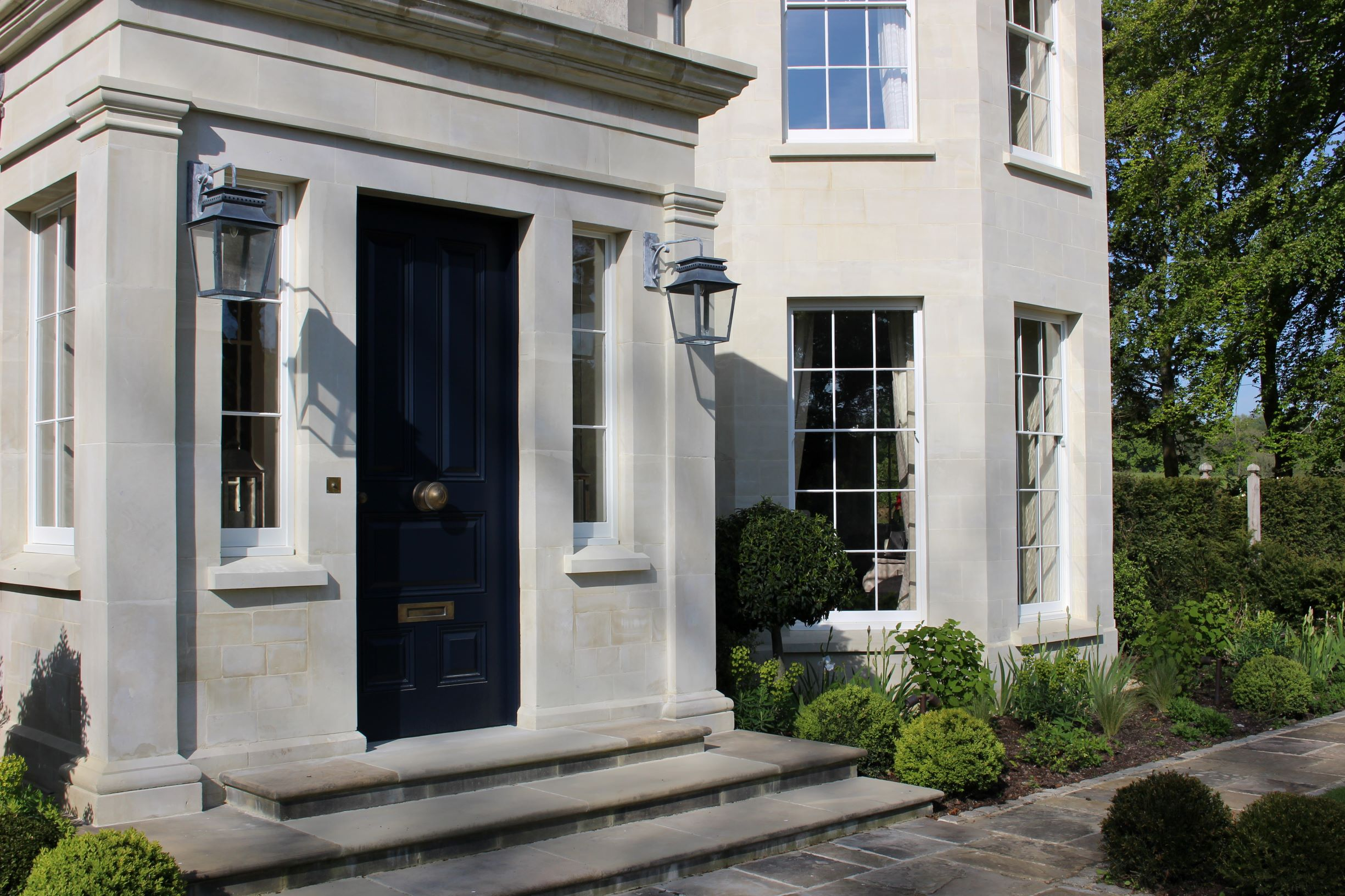 The Old Rectory by Wiltshire architects Richmond Bell Architects Salisbury
