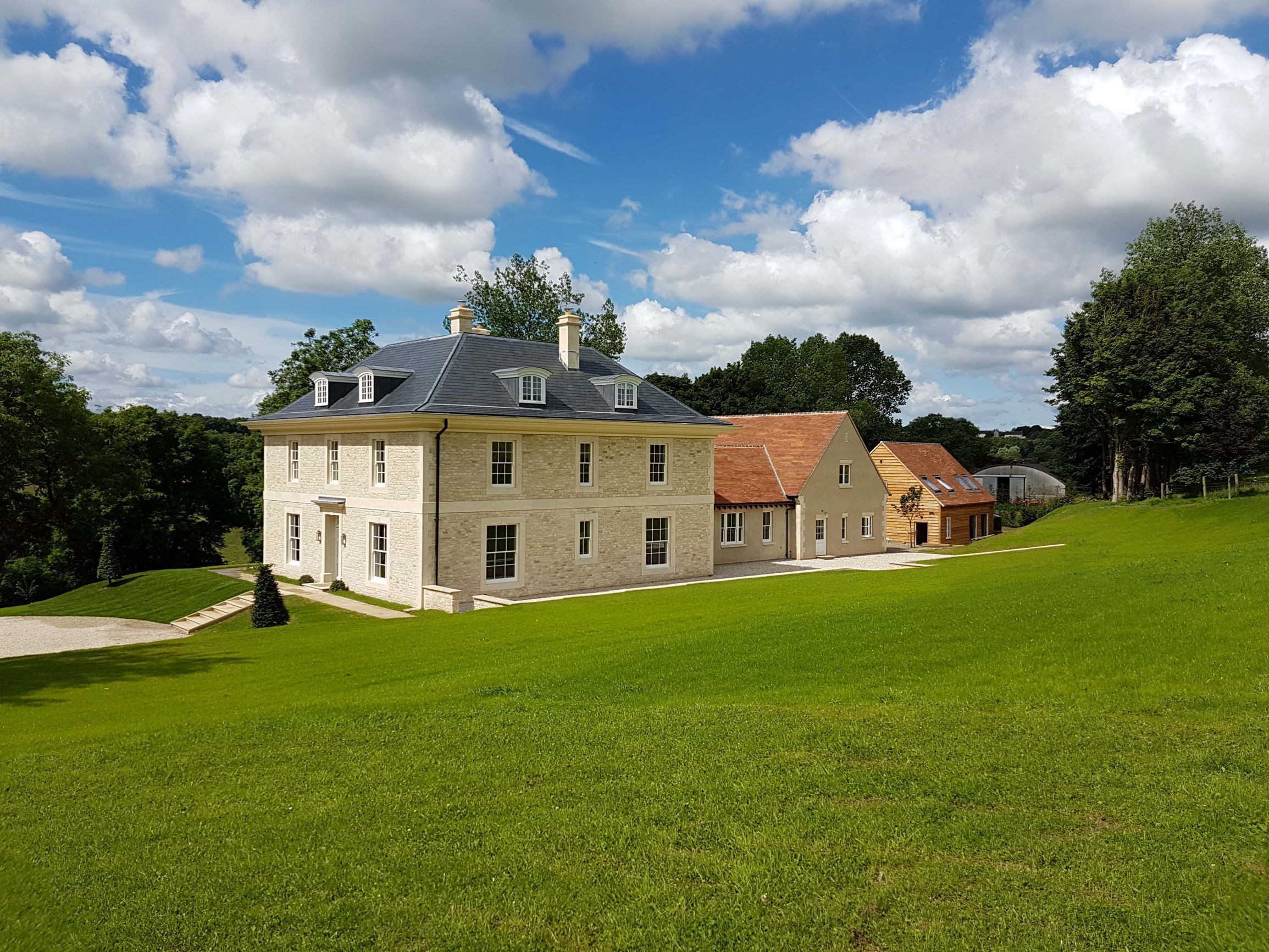 Chedworth House by Richmond Bell Architects Wiltshire