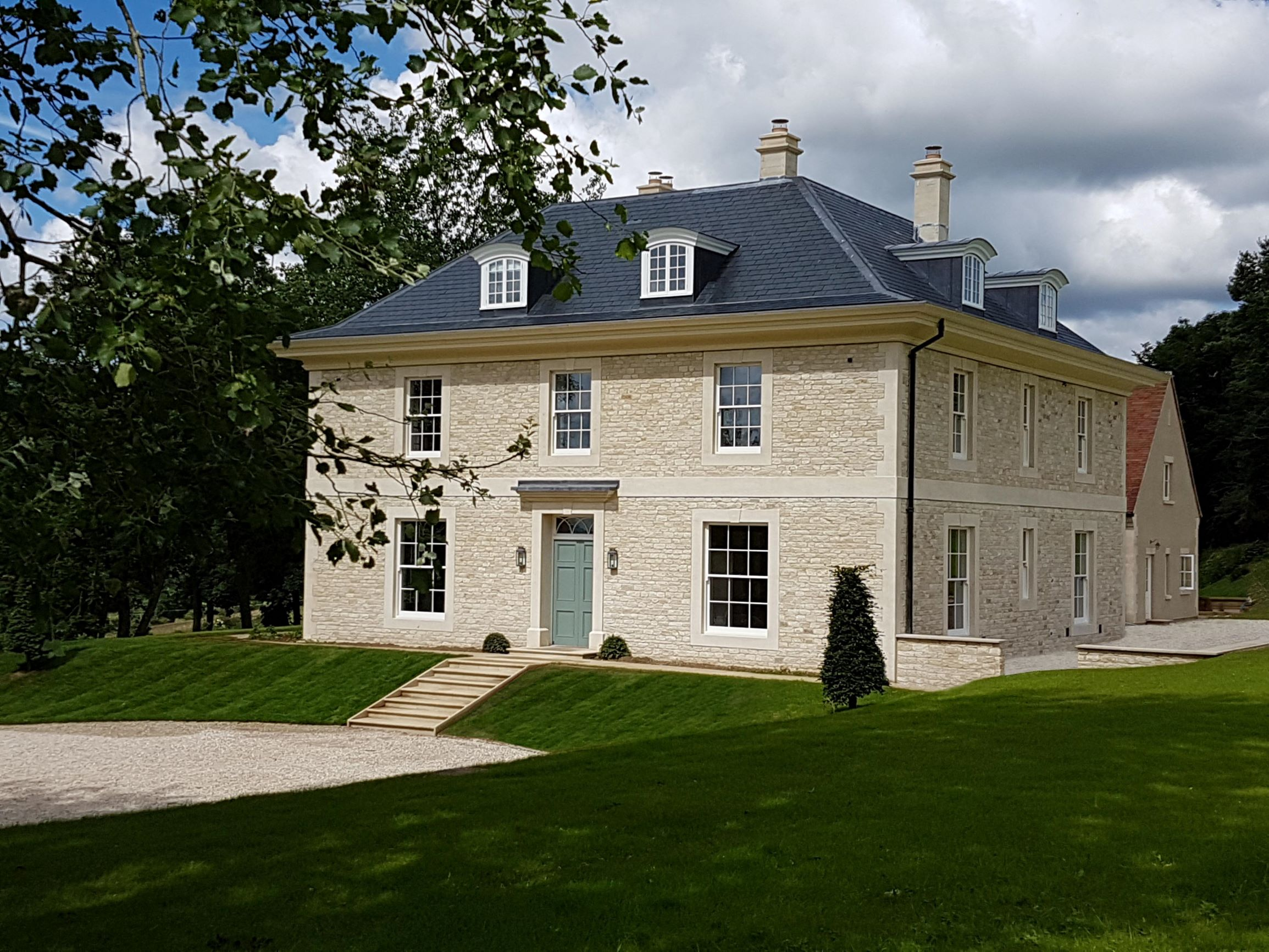 Chedworth House, by Wiltshire architects Richmond Bell Architects