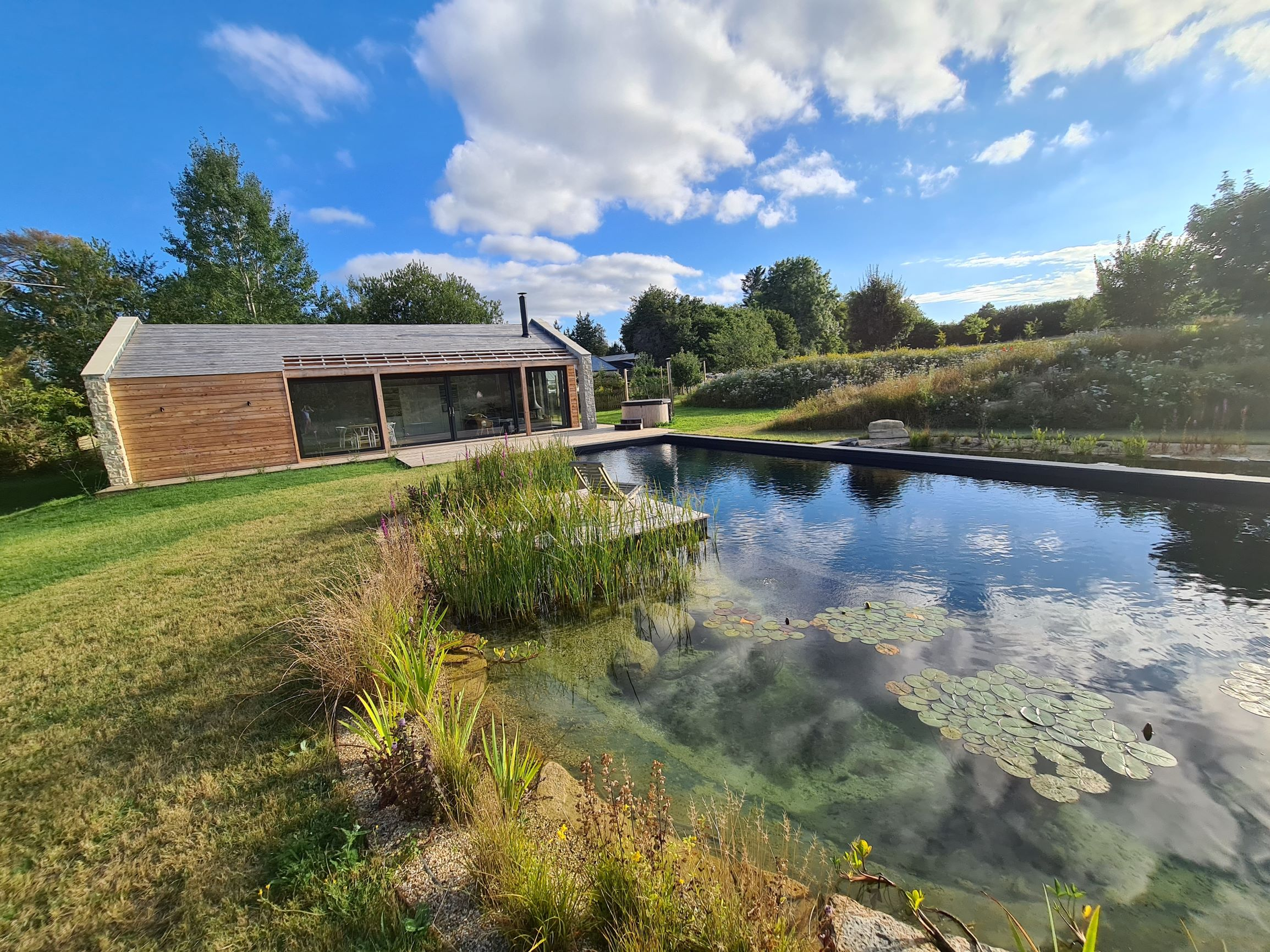 Richmond Bell Architects Wiltshire Pool House