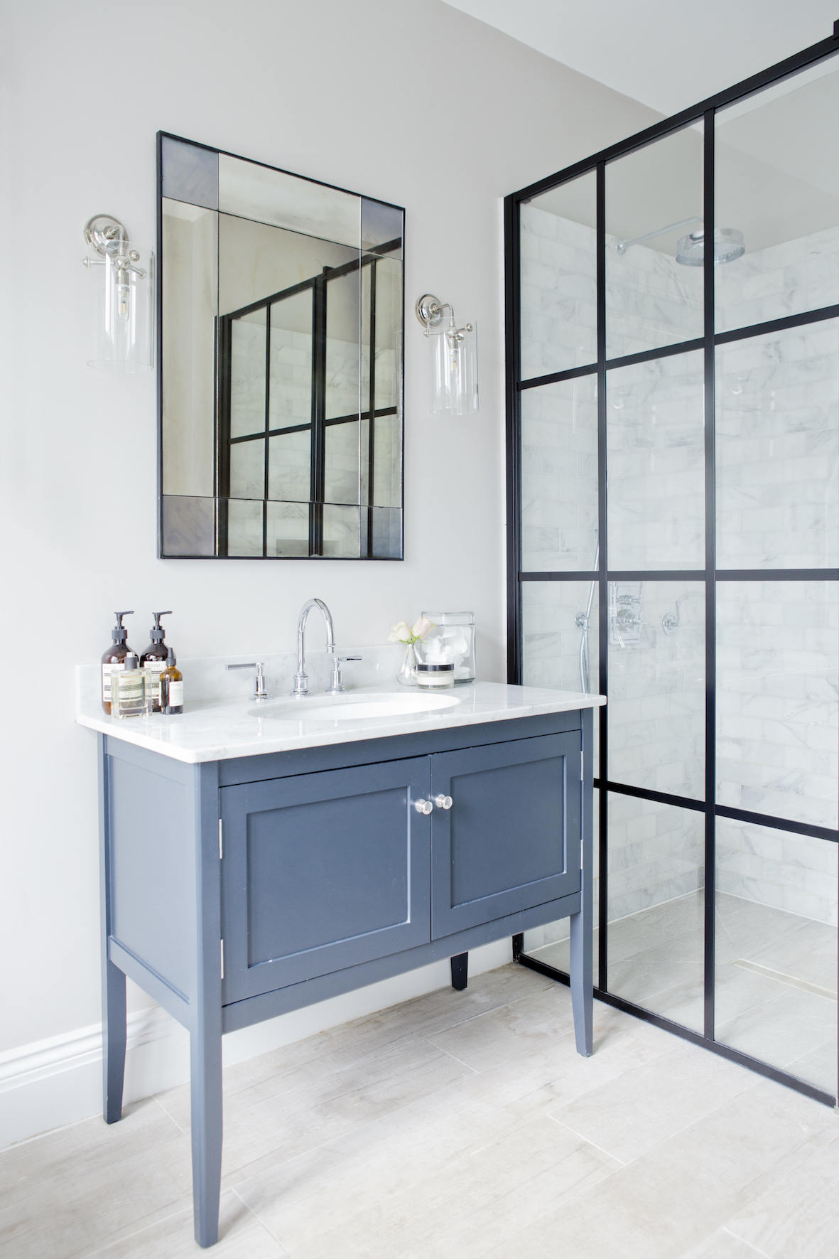 Shower Room, London Extension Richmond Bell Architects Salisbury
