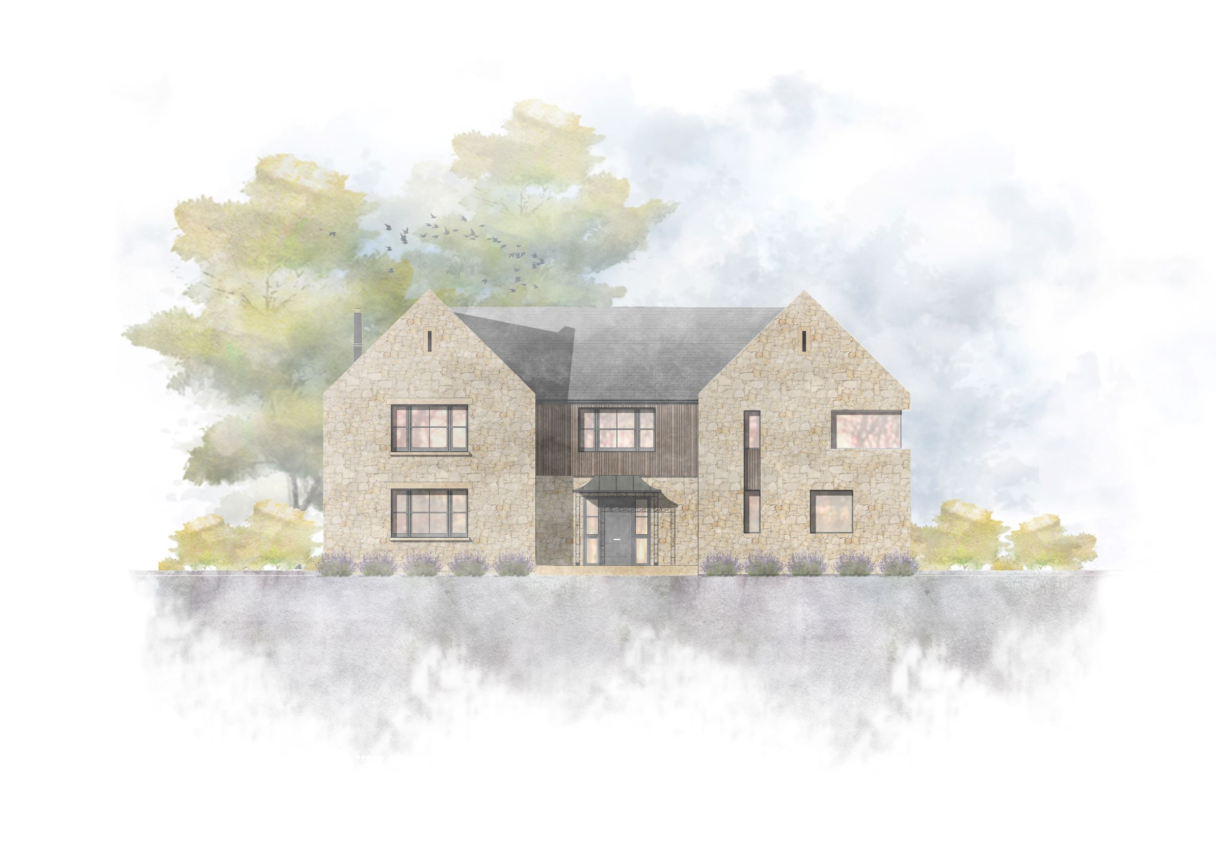 New Build Dorset Barn Conversion