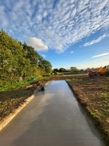 Concrete Slab - Dorset New Home